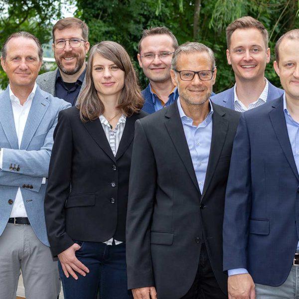 Gruppenfoto Geschäftsführer